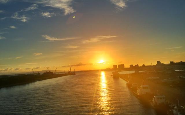 サザンゲートからの夕焼け