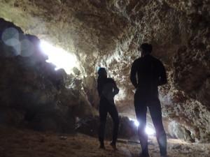 洞窟内部は鍾乳洞がスゴイ