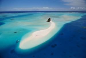ノカンウイ島の幻の島(ニューカレドニア)サンドバー