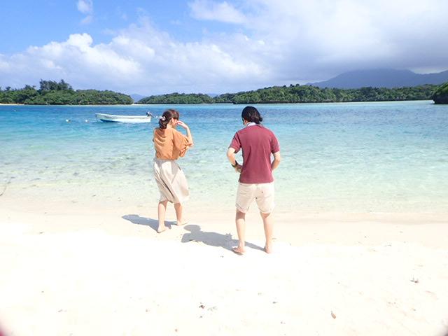 天気や服装などの情報を石垣島