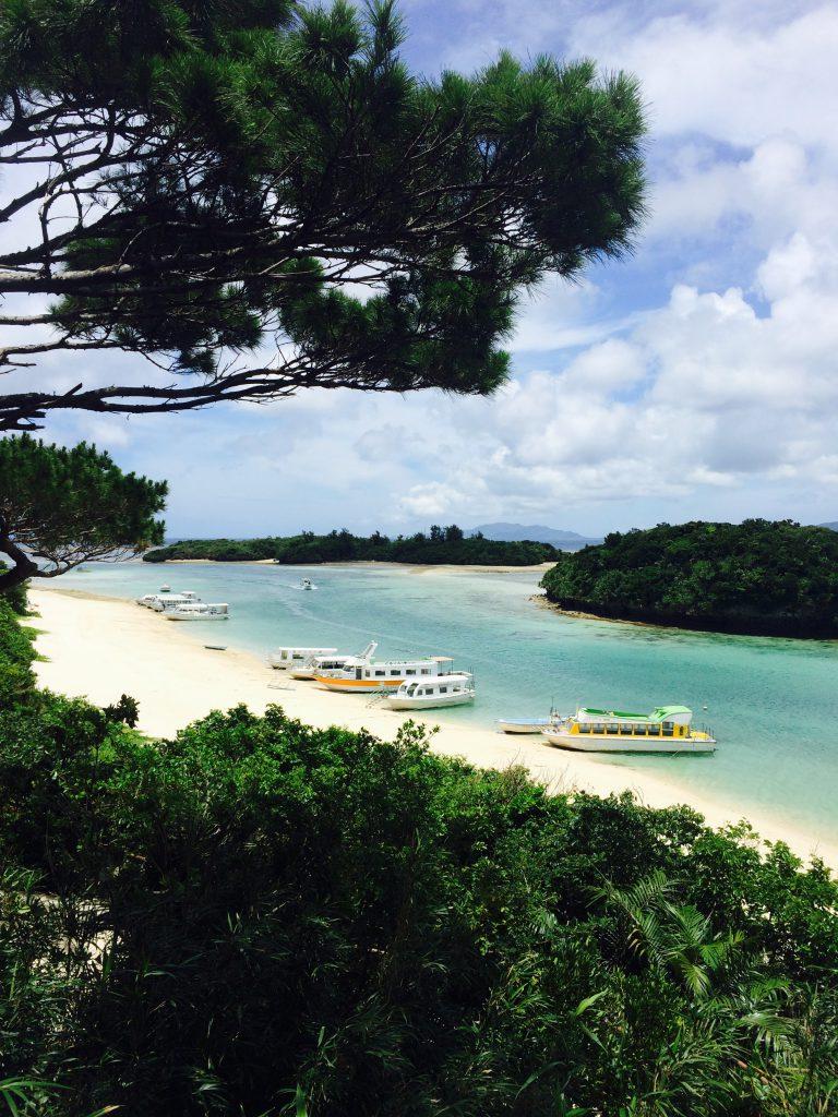 石垣島の観光で川平湾