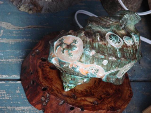 夜光貝の彫刻の仕方