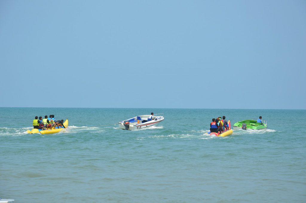 石垣島の海アクティビティの遊び