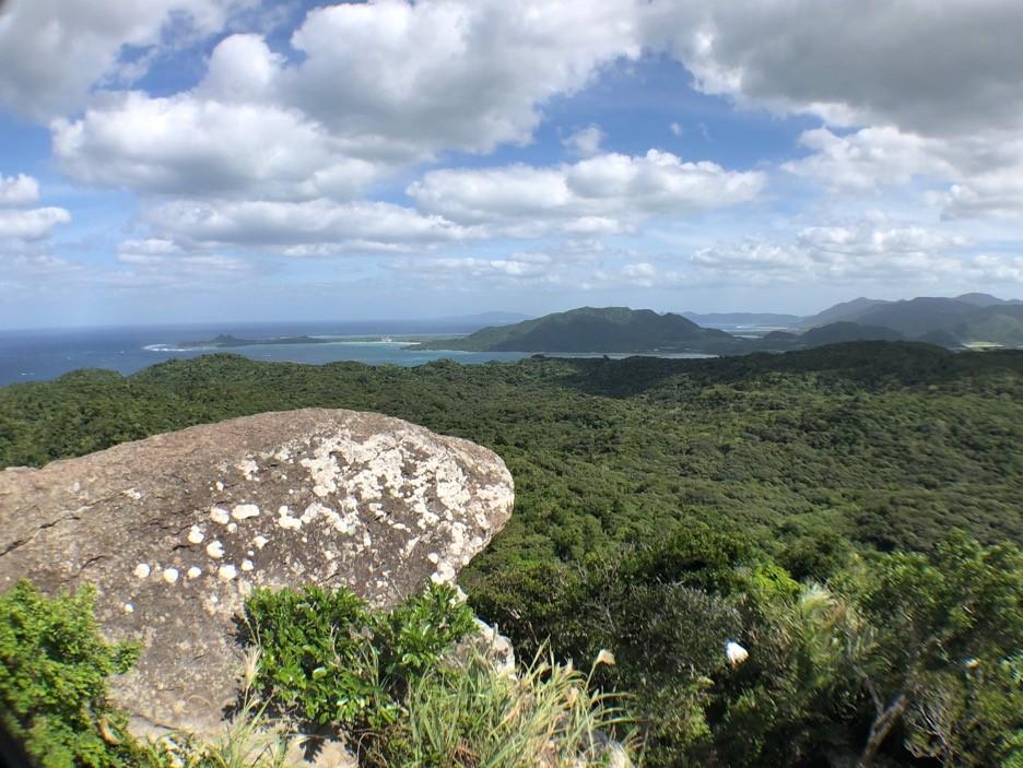 石垣島のヤラブ岳