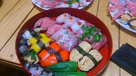 自分の太すぎる指は寿司