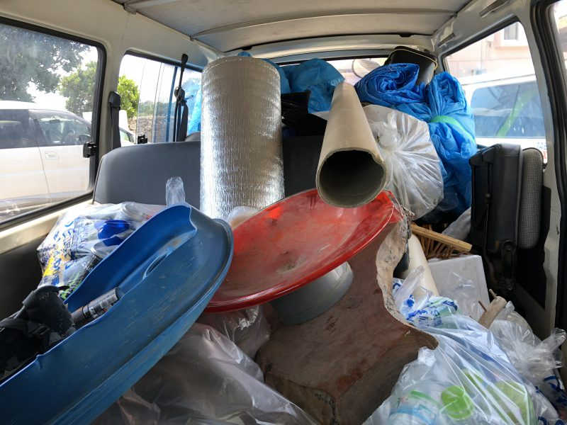 ゴミの捨て場所と分別