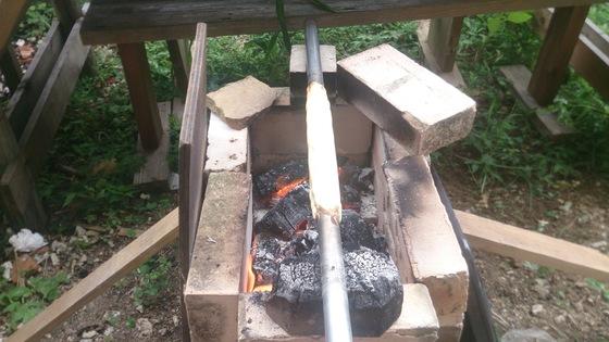 バウムクーヘン焼き方