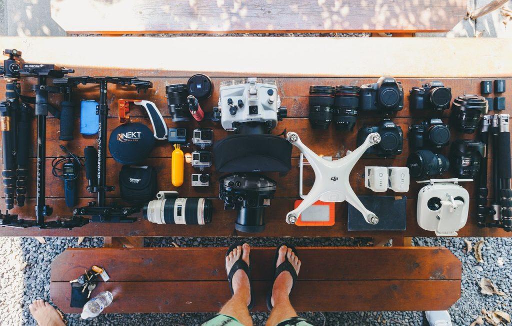 インスタ映えに有効なカメラ機材