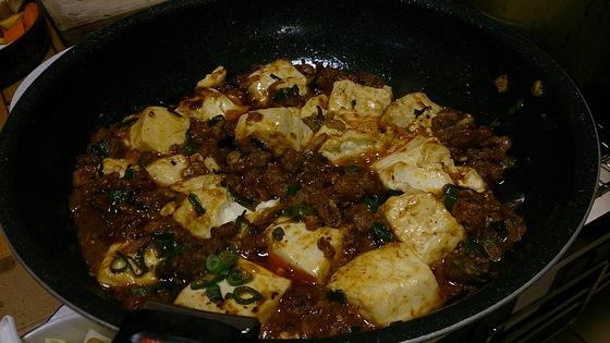 山椒ちょいと多めのマーボ豆腐