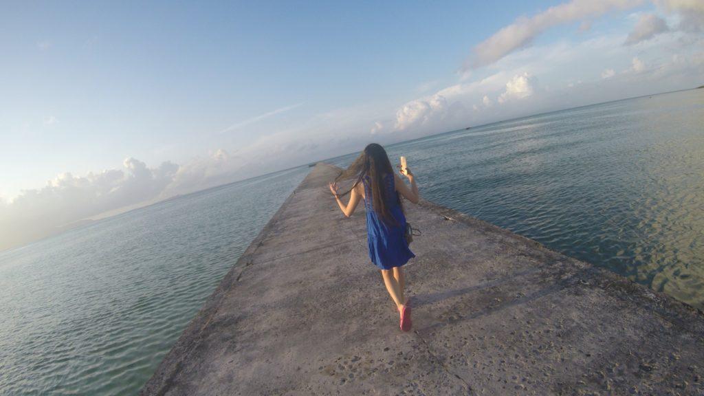 黒島では有名な観光スポット