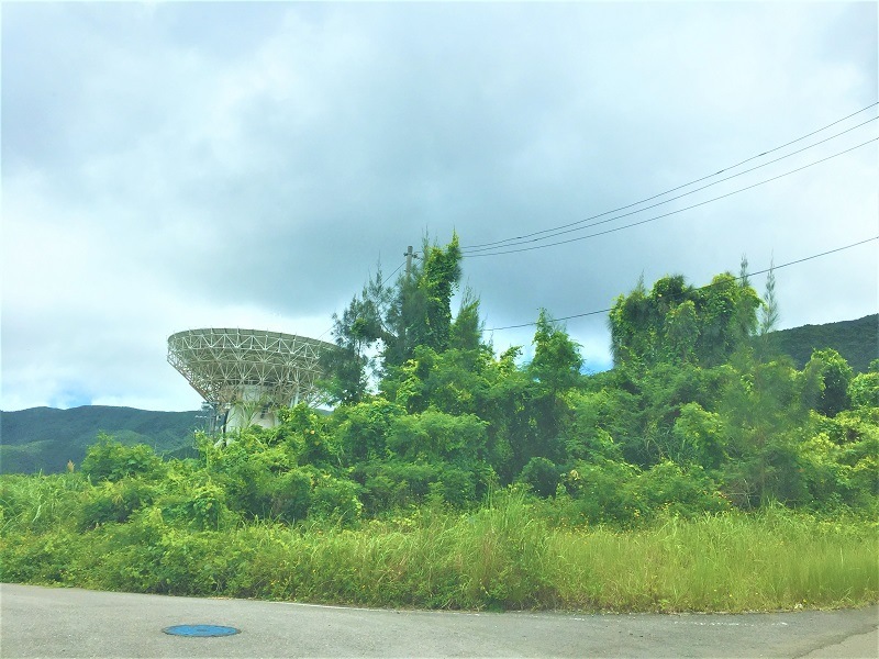 国立天文台VERA石垣島観測局・電波望遠鏡