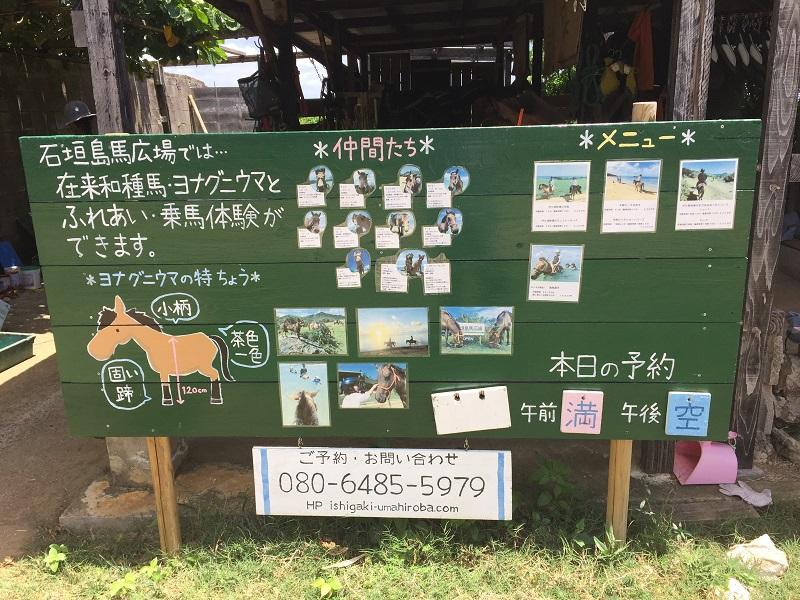 石垣島馬広場