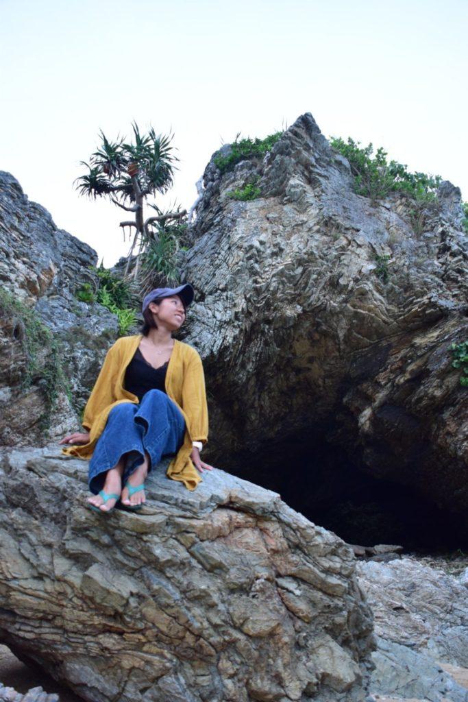 石垣島ではケイビング(洞窟探検)